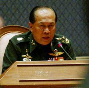 Army Chief Gen Anupong Paochinda
