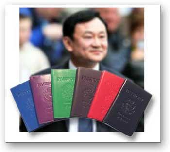 thaksin_passports