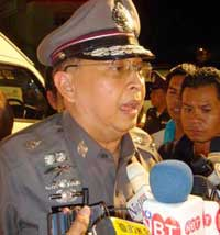 Police Major General Suraphol Thuanthong