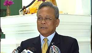 Suthep Thuagsuban, the deputy prime minister