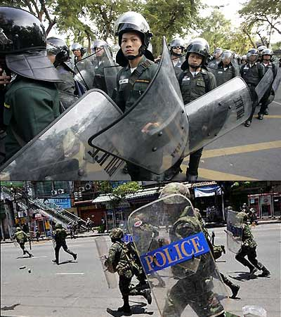 The Emergency Decree , Bangkok- Songkran Riots in April 2009